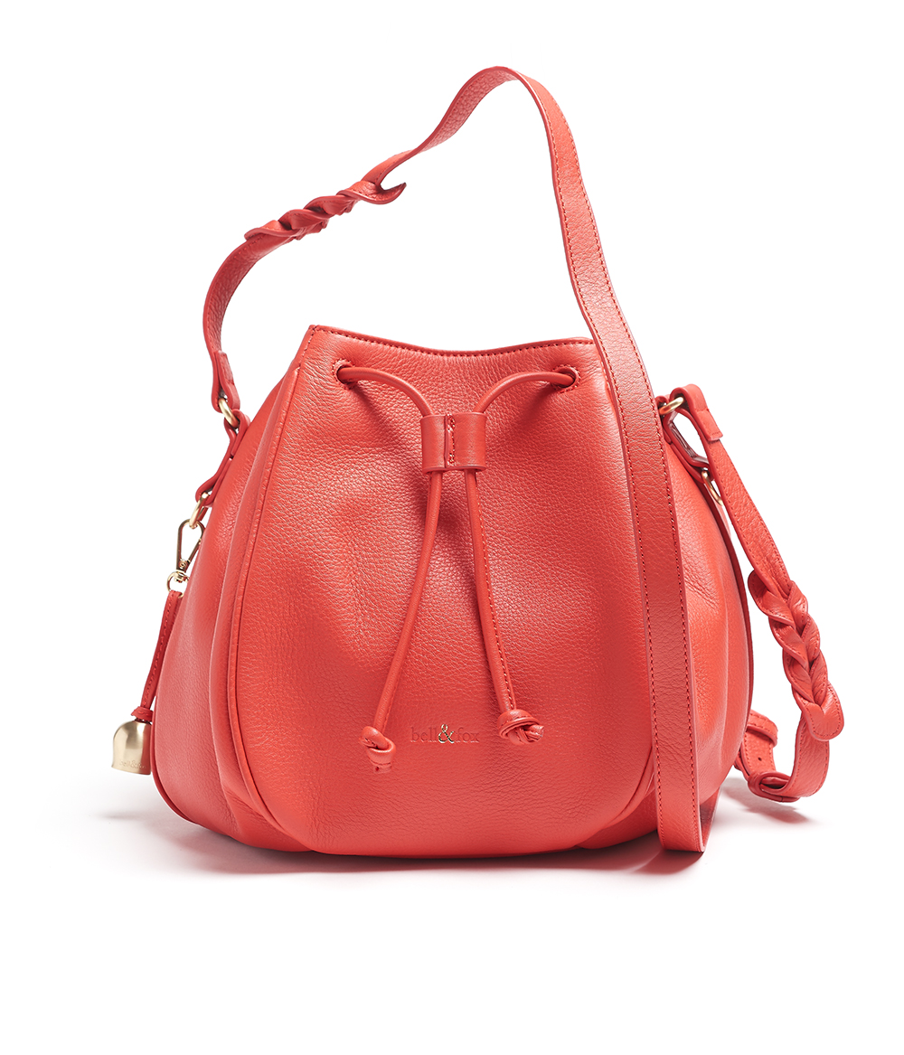 Bell & Fox - Bucket Bag Poppy - £225 www.bellandfox.com